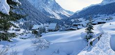 Gargellen dans le Montafon, Vorarlberg © Tourismusverband Gargellen
