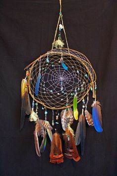 Dream With Color Dream Catcher... Native American by crowshadow