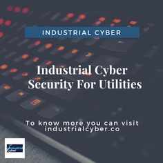 Time to prioritize Cyber Security for Utilities-Energy, Power, Water, Waste. Find out an in-depth introduction to cyber security issues facing utilities today Security Hacking, Security Tips, Water Waste, Competitor Analysis, Prioritize, Cyber, Industrial, Amazing, Industrial Music