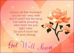 Perfect Get Well Soon Messages And Get Well Soon Quotes
