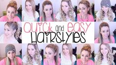 Fast And Easy Hairstyles For School