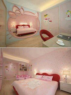 Lovely Hello Kitty Room