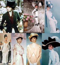 1964年に製作されたオードリー・ヘップバーン主演の「マイ・フェア・レディ」。イギリスの階級社会を背景に1人の女性が立派なレディに成長していく様とロマンスを描いたラブコメディー。 華麗な衣装も含めて、気分が華やぎ楽しい気分にさせてくれる映画です。可憐でお茶目なオードリーがとっても魅力的です。