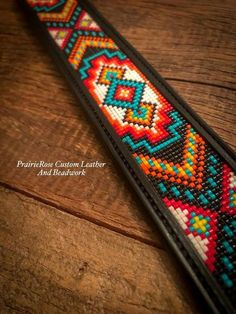 I like to match beads of the exact same surface and colour household and after that include a complementary colour Native Beading Patterns, Seed Bead Patterns, Native Beadwork, Beaded Jewelry Patterns, Loom Bracelet Patterns, Bead Loom Bracelets, Beaded Beads, Beaded Necklaces, Beaded Hat Bands