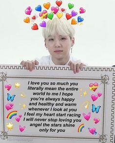 Love You Meme, Cute Love Memes, Funny Love, Love You So Much, How Are You Feeling, Namjoon, Taehyung, Memes Amor, Bts Emoji