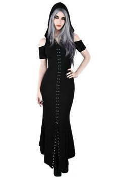 71e6f6cec4c Blazing Maxi Dress  B . Goth GirlsDark FashionGothic ...