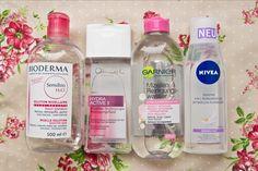 Vier Mizellenwasser im Check - Bioderma, L'Oréal, Garnier und Nivea http://www.marie-theres-schindler.de/mizellenwasser-im-vergleich-bioderma-loreal-garnier-und-nivea/ #beautyblogger