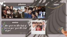 BTS Desktop organizer wallpaper