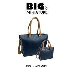 Big or miniature handbag DOCA