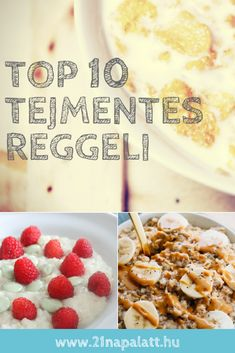 Tippek a legízletesebb tejmentes reggelikhez. 10 azonnal kipróbálható gyors és könnyű recept. Kattints a képre és próbáld ki őket! Healthy Lifestyle, Food And Drink, Drinks, Breakfast, Recipes, Breakfast Cafe, Beverages, Rezepte, Drink
