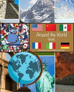 We're going international for Around the World Week at Grace Community School! Each day will feature activities and foods from different countries.  Here's the lineup:  Monday: Italy Tuesday: China Wednesday: Mexico Thursday: France/Germany Friday: America  Bonus: Friday is Red White and Blue Dress-Up Day!   . . . . . #international week #italy #childcare #mexico #germany #france #china #earlylearning #ece #daycare #childcare #prek #preschool #kidsfun…