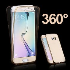 S7 EDGE Case Front Back Full Case For Samsung Galaxy A5 2016 Touch Soft TPU Case For Samsung A5 2016 J3 J5 Prime S3 A3 A5 2017