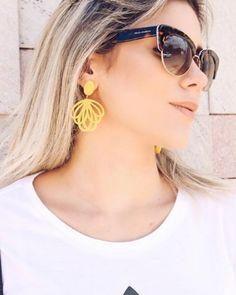 Bom dia! Começamos essa terça-feira com a #pic linda da @gabifpinho  #oticaswanny #dolcegabbana www.oticaswanny.com