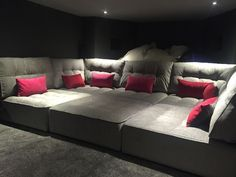 Why do you enjoy the cinema? It's a great area to unwind, loosen up, and also forget all your difficulties. #HomeTheater #Basement