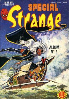 Spécial Strange -REC07- Album N°7(du n°19 au n°21)