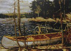 Tom Thompson The Canoe