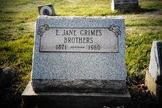 Elizabeth Jane Hackathorn Grimes Brothers #genealogy