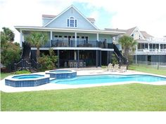 214  Ocean Blvd is  the ultimate beach  rental machine. Find your Isle of Palms home at www.FindingCharlestonaHome.com