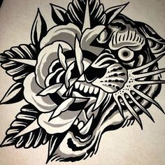 Old School Inspiration Traditional Tattoo Black And Grey, Traditional Black Tattoo, Traditional Tattoo Old School, Traditional Tattoo Design, Traditional Ink, Black And Grey Tattoos, American Traditional, Traditional Tattoo Drawings, Tattoo Design Drawings