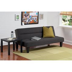 Kebo Futon Sofa Bed - Walmart.com - to fit under full loft from Ikea