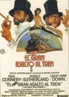 Pierce es un experto ladrón de mediados de siglo XIX y convence a dos compinches para robar 25.000 libras en oro de un tren en marcha. Sin embargo, antes de poder acercarse al botín, la banda crimi…