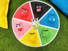 Monster of Colours Activity Mat, Matching game, Colour play mat! ( Monsters not included) - Egbert Meiningen Monster Activities, Emotions Activities, Montessori Activities, Class Activities, Color Activities, Halloween Activities, Monster Book Of Monsters, Funny Monsters, Emotions Wheel