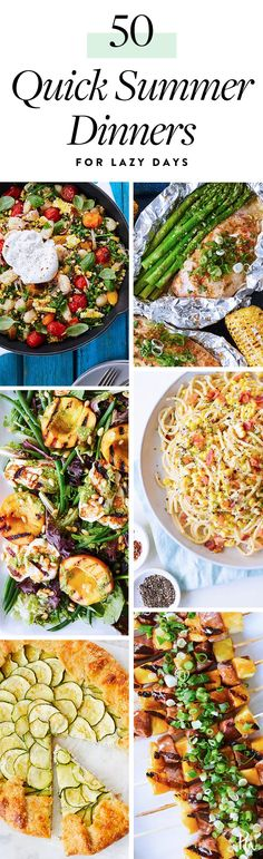 50 Quick Summer Dinner Ideas For Lazy People #purewow #recipe #easy #dinner #food #cooking #summer