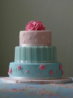 Like the top layer of this cake but frosted not covered in fondant with fondant polka dots and frosted or fondant flowers or a diploma