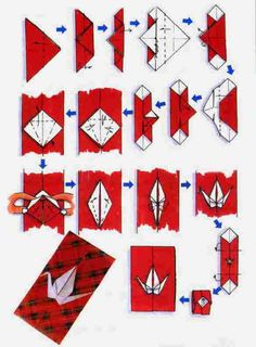 Hola a todos!! El título es un poco raro pero se refiere a un sobre (de los de cartas) en los que hay una grulla en el cierre hecha de origami o papiroflexia. He encontrado tres modelos diferentes.…