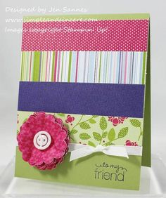 Cheerful Treat by stamperjen0 - Cards and Paper Crafts at Splitcoaststampers