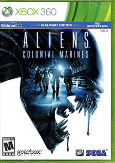 Aliens Colonial Marines Walmart Edition w Multiplayer Mode ** You can get more details by clicking on the image. Note:It is Affiliate Link to Amazon.
