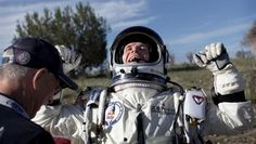 Fearless Felix Baumgartner Goes Supersonic in Red Bull Stratos Jump (video) Felix Baumgartner, Google Glass, Red Bull, Making 10, Golf Bags, Canada Goose Jackets, Youtube, Winter Jackets, In This Moment
