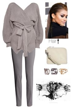 """Untitled #1512"" by susannem ❤ liked on Polyvore featuring H&M, Topshop, Cheap Monday, Ashley Stewart, women's clothing, women's fashion, women, female, woman and misses"