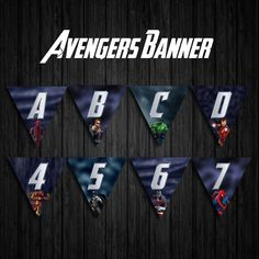 Banners, Vibrant Colors, Avengers, My Design, The Avengers, Banner, Bunting