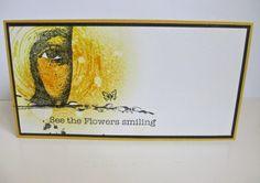 AJ sheet: Eyes & Nature flowers