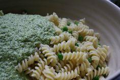 Pasta Salad with Asparagus-Mint Pesto