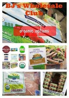 Shopping in bulk for the family? Be sure to check out the organic options available at a BJ's Wholesale Club near you!
