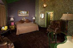 "Renata booked the ""Ren"" room at the renown Madonna Inn in San Luis Obispo."
