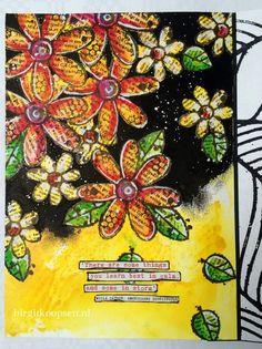 Journal page by Birgit Koopsen - gorgeous!