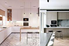 Volvemos a uno de los espacios que más gustan de una casa con el fin de mostraros varias ideas para ubicar el horno y el microondas en la cocina. Walmart, Divider, Table, Room, Furniture, Ideas, Home Decor, Microwaves, Home
