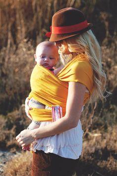 Una manera práctica y cómoda de llevar a tu bebé #Bebe
