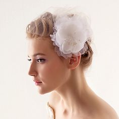 One Tier Wedding/Special Occasion Blusher Veil – GBP £ 12.95