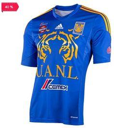 ¡Jersey de Visitante Tigre UANL con 30% de Descuento en Adidas!