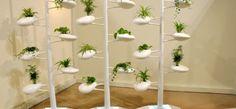 [!] 햇빛 차단, 식물 재배, 공기 정화, 인테리어 등 다목적 수직형 실내정원 'Live Screen'