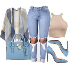 A fashion look from September 2016 featuring Dorothy Perkins, Christian Louboutin shoes and Michael Kors handbags. Browse and shop related looks.