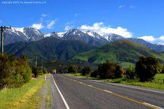 PK2738 - Kaikoura Ranges, State Highway 1, East Coast, South Island