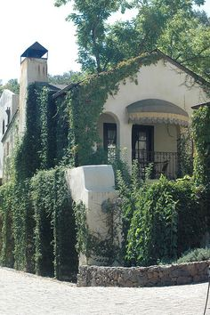 Spanish style #CourtYard #Landscape #Outdoor ༺༺ 🏡 ❤ ℭƘ ༻༻