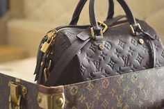 Louis Vuitton L'Invitation au Voyage.... 1 day I will own 1 of these beautiful bags