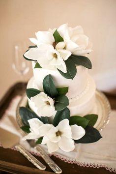 Southern Magnolia cake