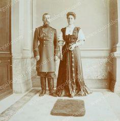 Nicholas and Alexandra at Livadia